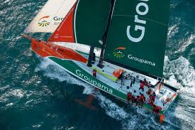 Groupama 4 Volvo Ocean RAce
