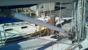 Leading the Halyards Aft