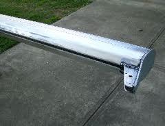 prepped aluminum mast
