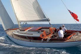 Fairlie Yacht Under Sail