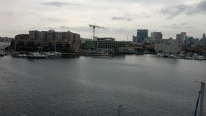 Fells Point from Aloft
