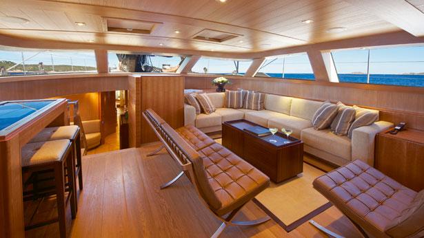 Sarrissa SAiling YAcht Interior