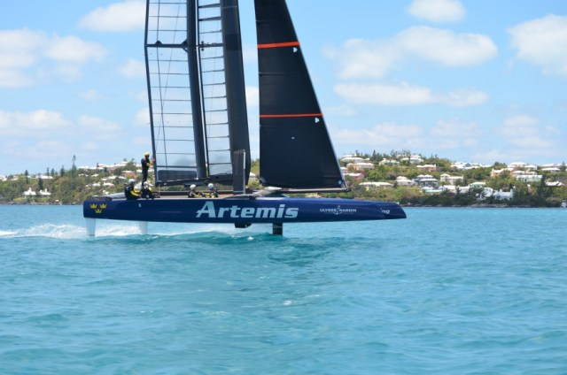 artemis racing turbo 45 america's cup