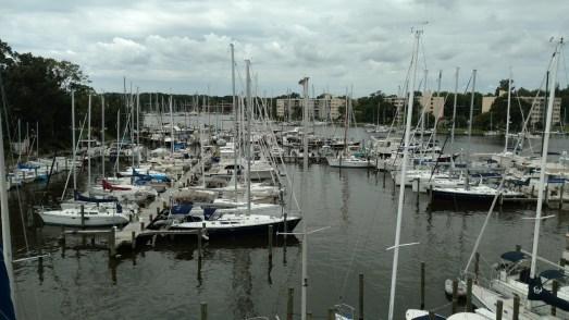 Riggers at Annapolis landing Marina