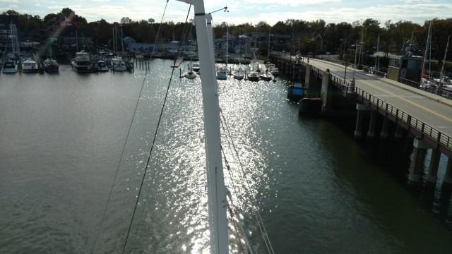J105 row AYC. Annapolis Yacht club