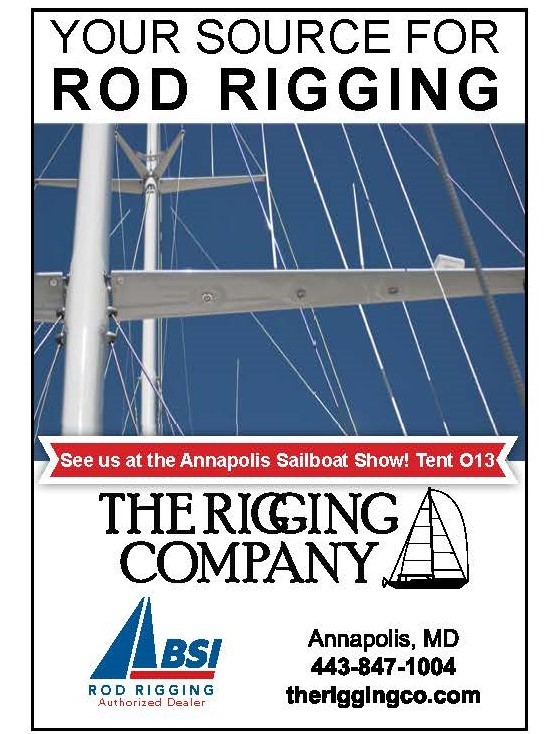 BSI rigging and The Rigging Company at the Annapolis Boat Show.