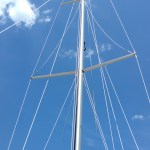Alden Caravelle Yawl with taller masts! Campbells Bachelor Point. The Rigging Company