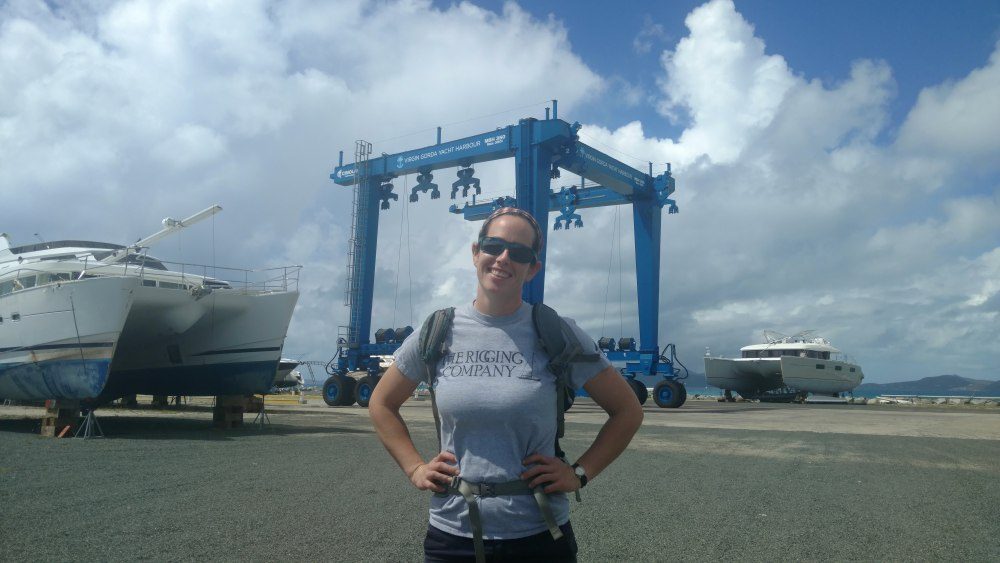 Riggers in Virgin Gorda. The Rigging Company. we'll Come to You!!