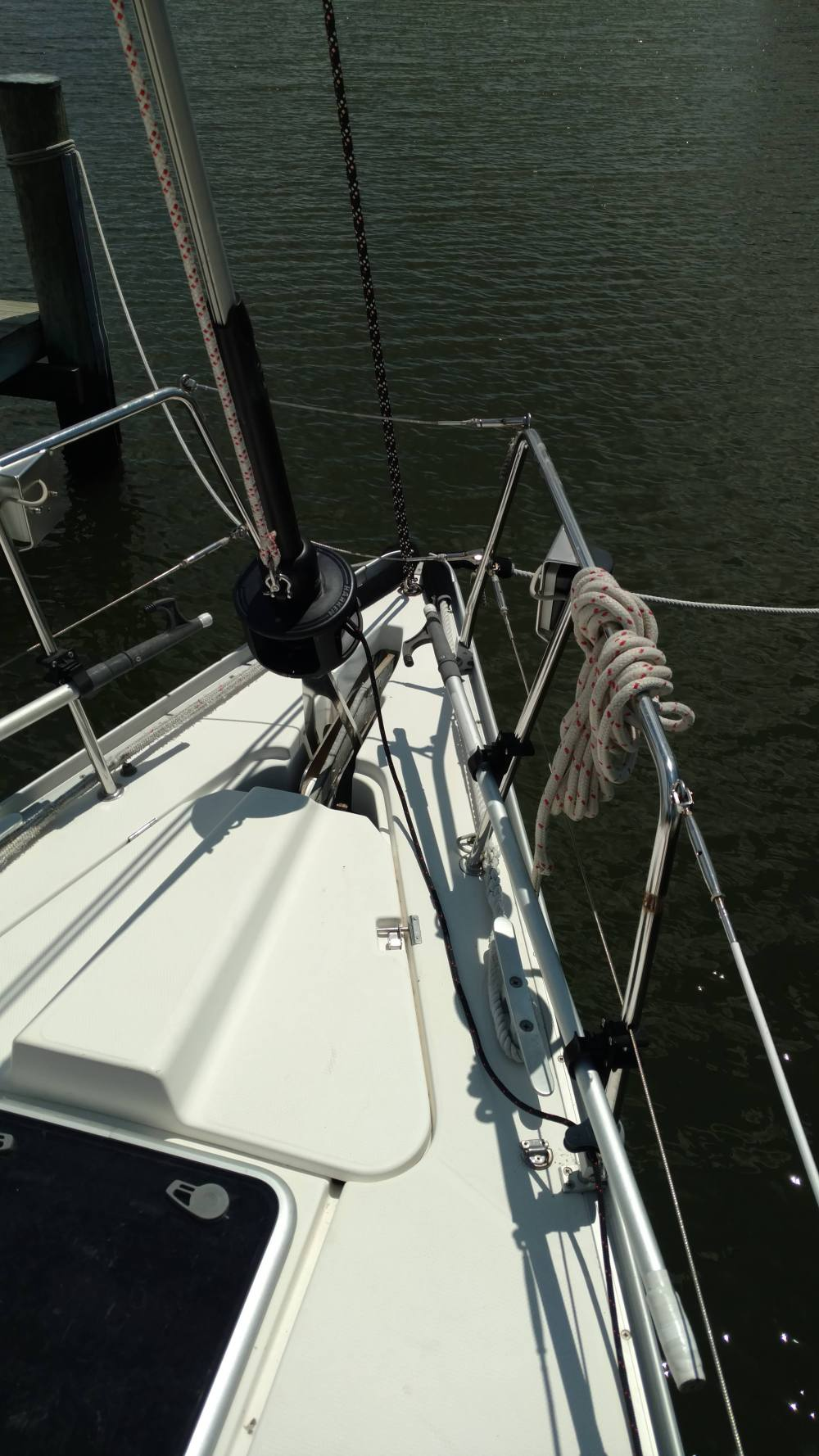 Dufour 43 TRC Tall mast. New Harken Headsail Furler.