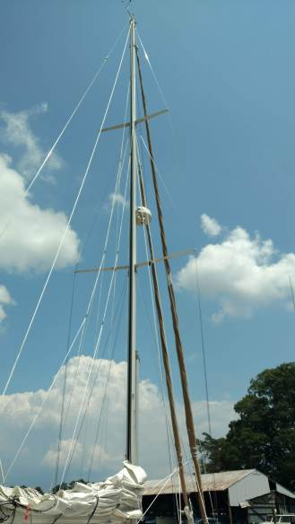 Valiant 42 Refit. Solomon's Island Maryland. TheRigging Company.