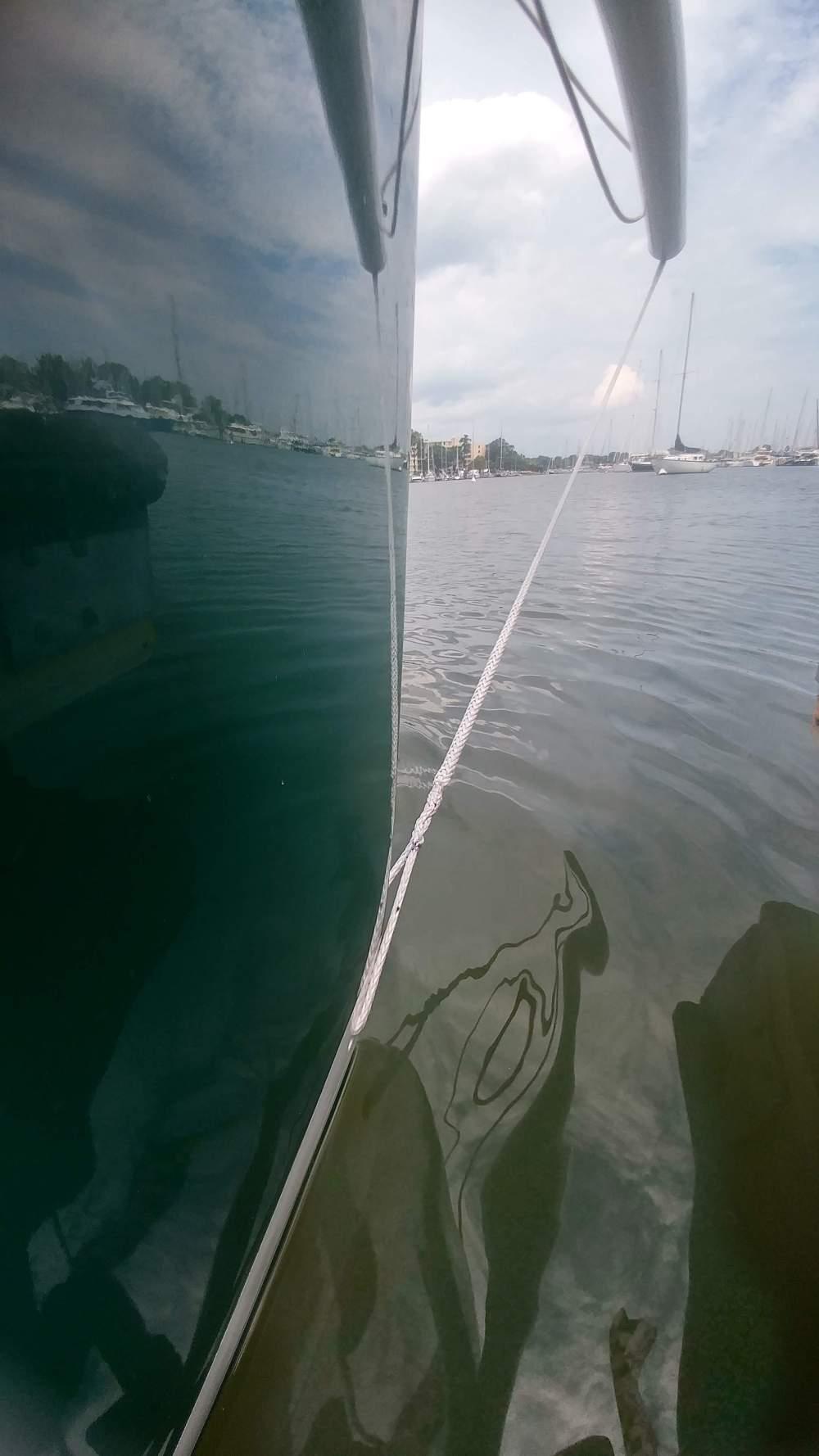 J 100 retractable bow sprit