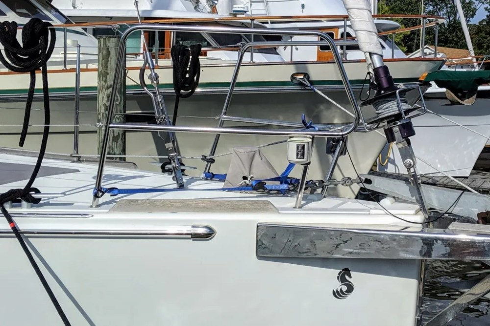 TRC Removable Inner Forestay System, Beneteau 50