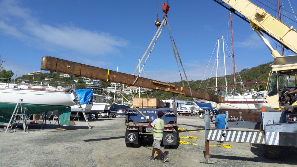 the rigging company independant boat yard st thomas