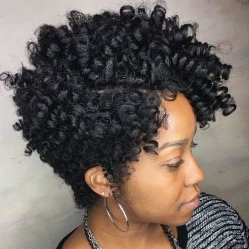 Curly Tapered Cut For Natural Hair