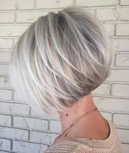 Tousled Inverted Bob