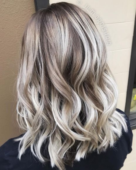 ideas of gray and silver highlights