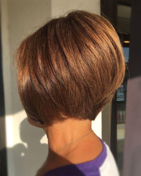 Nape-Length Cinnamon Brown Bob