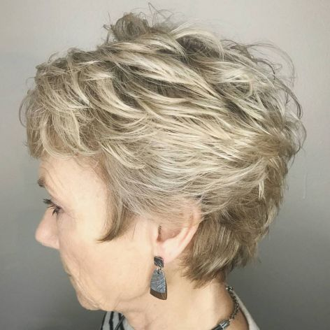 Tousled Pixie For Women With Fine Hair