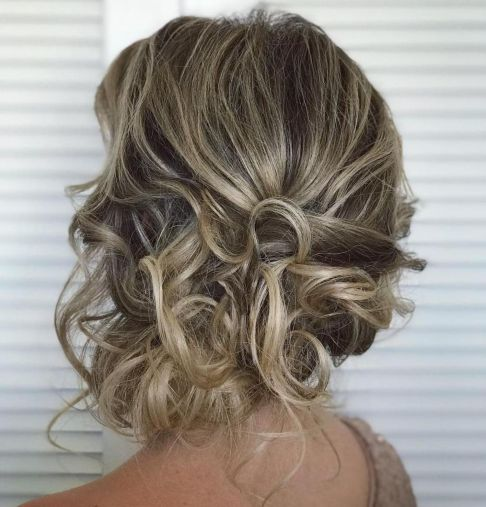 Very Loose Asymmetrical Updo