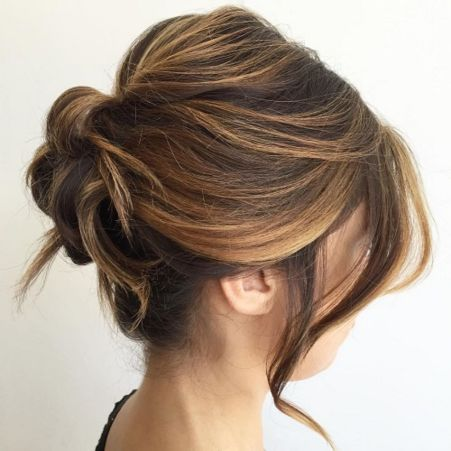 Updo for Shorter Hair