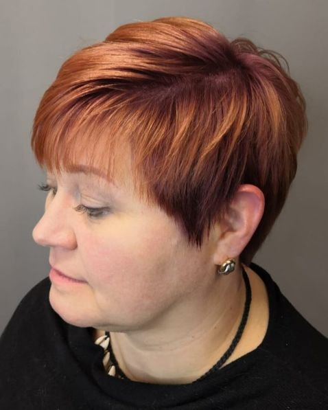 20 Latest Short Hairstyles For Women With Round Faces Over 50