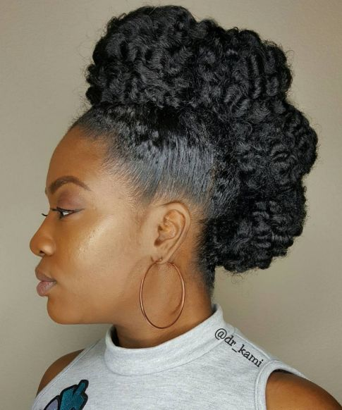 Protective Mohawk Hairstyle For Black Women