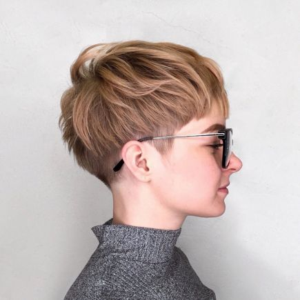 Very Short Choppy Cut For Girls