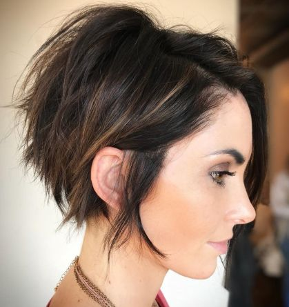 Long Choppy Messy Pixie