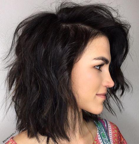 80 sensational medium length haircuts for thick hair in 2021