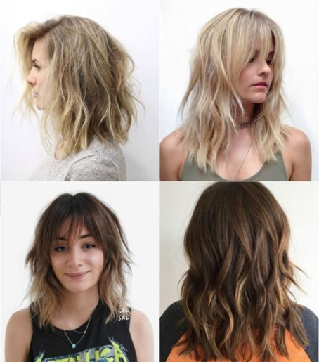 sensational medium length haircuts