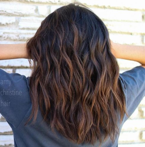Long Layered U Cut For Thick Hair