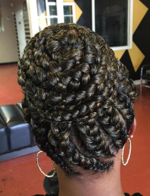 70 Best Black Braided Hairstyles That Turn Heads In 2018
