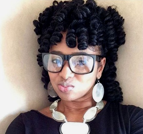 protective hairstyle with crochet braids