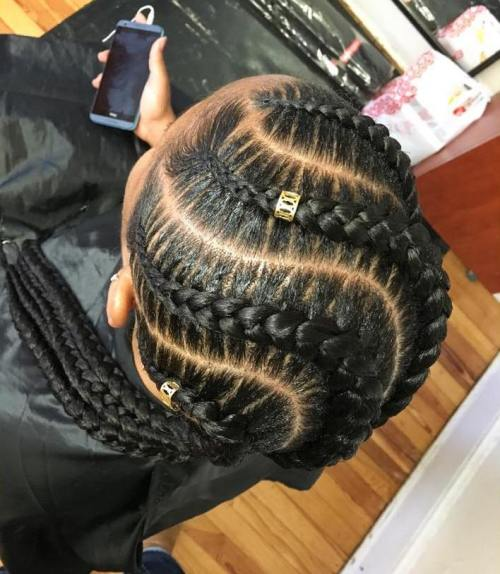 70 best black braided hairstyles that turn heads in 2017 snake braids urmus Images