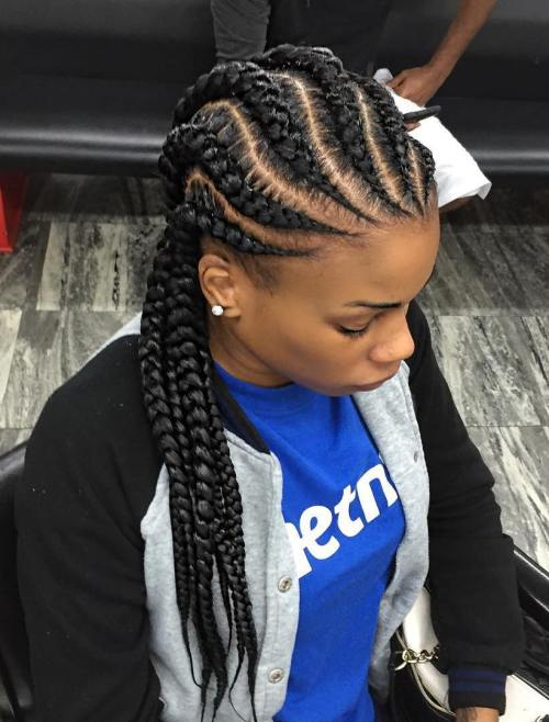 70 best black braided hairstyles that turn heads in 2017 black braids hairstyle pmusecretfo Images