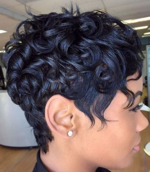 great short hairstyles black