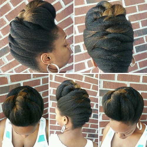 Stupendous 70 Best Black Braided Hairstyles That Turn Heads In 2017 Short Hairstyles Gunalazisus