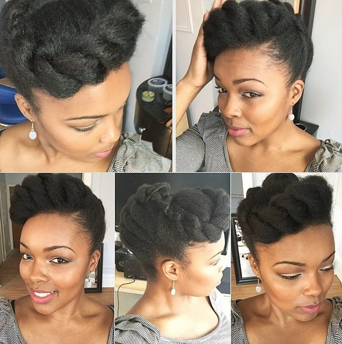 Peachy 70 Best Black Braided Hairstyles That Turn Heads In 2017 Hairstyles For Women Draintrainus
