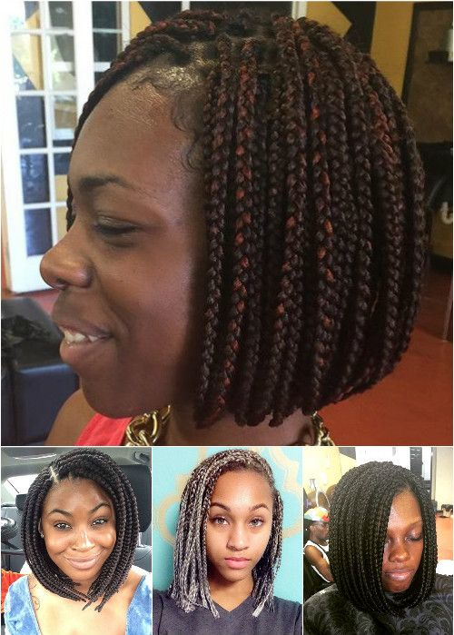 bobs with box braids