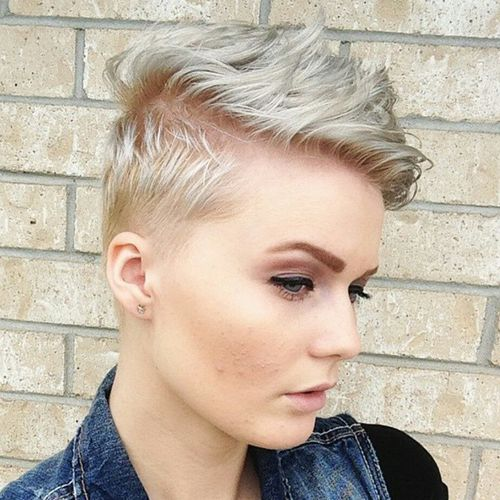 Super 90 Most Endearing Short Hairstyles For Fine Hair Short Hairstyles Gunalazisus