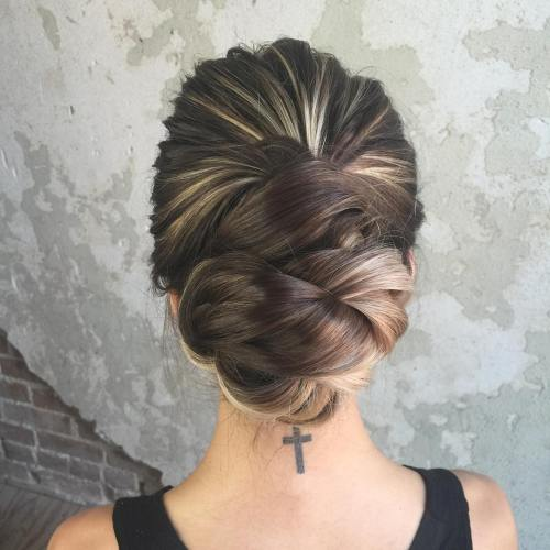 Sensational 40 Most Delightful Prom Updos For Long Hair In 2017 Short Hairstyles Gunalazisus