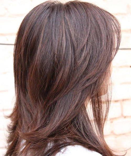 length layered haircuts for thick hair 80 sensational medium length haircuts for thick hair in 2018 6126
