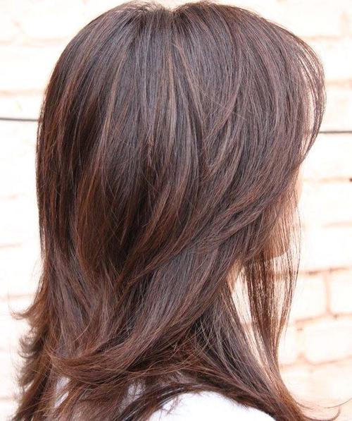 Pleasant 90 Sensational Medium Length Haircuts For Thick Hair In 2017 Short Hairstyles Gunalazisus