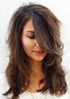 Medium Hairstyles And Haircuts For Shoulder Length Hair In 2019 Trhs