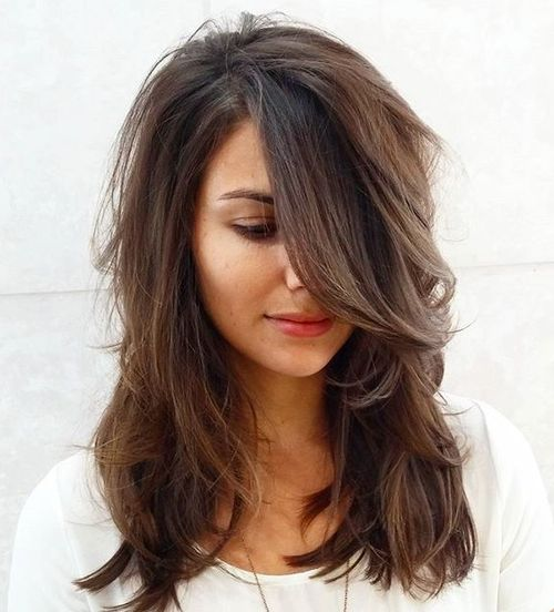 11 Brightest Medium Length Layered Haircuts and Hairstyles