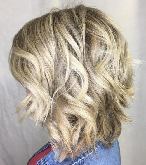 Medium Shaggy Bob For Thick Hair