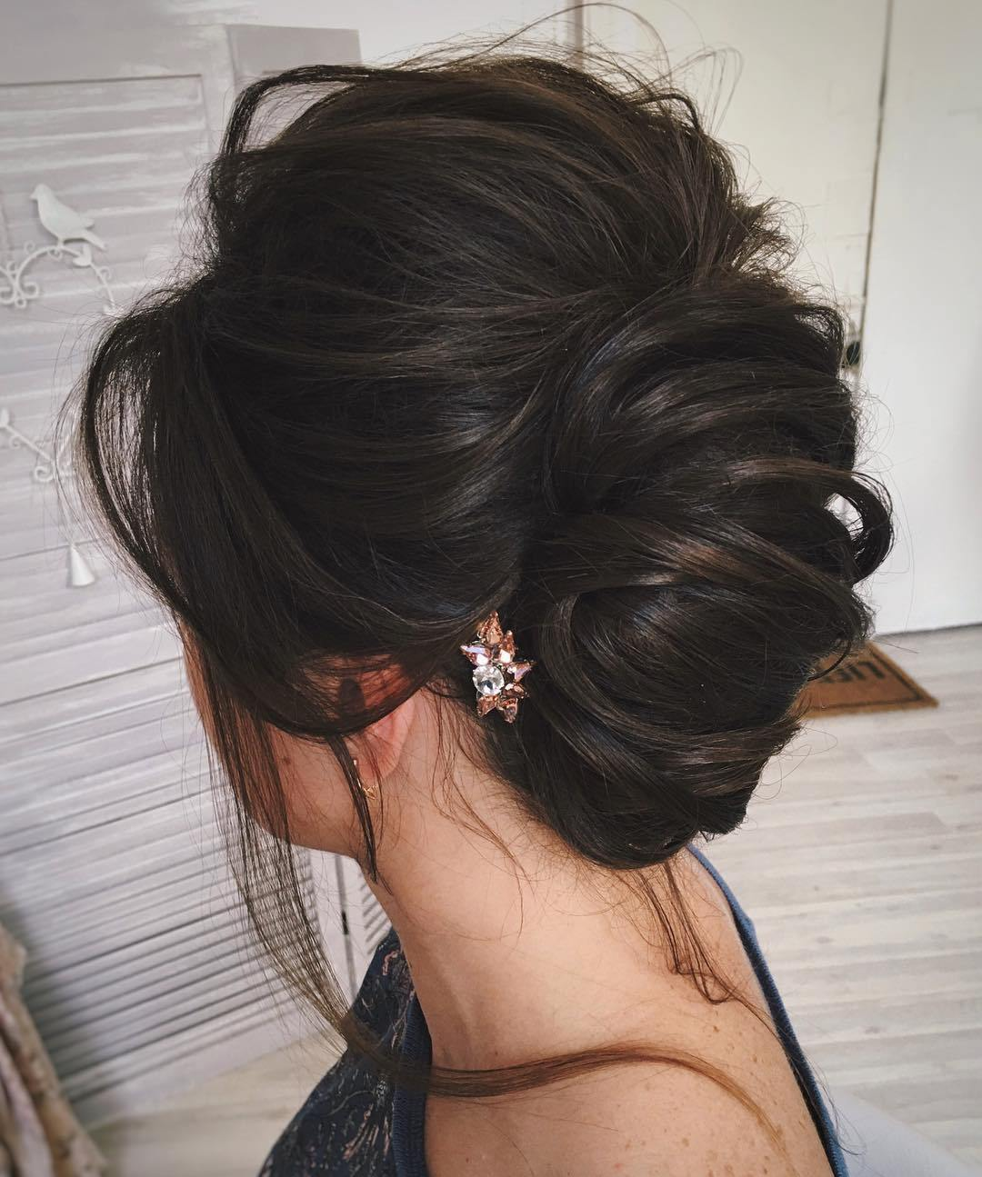 Simple Messy Formal Updo