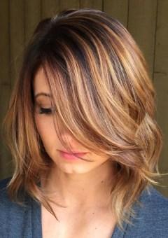 Medium Hairstyle medium layered hairstyle with bangs 90 Sensational Medium Length Haircuts For Thick Hair