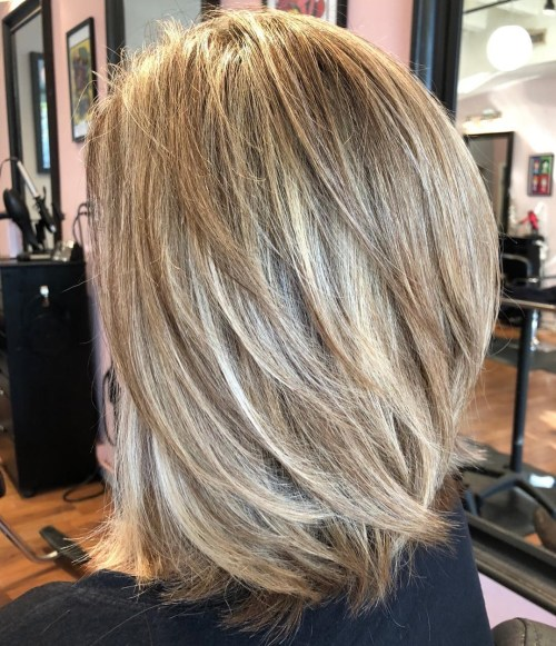 layer hair cut style 70 brightest medium length layered haircuts and hairstyles 5743 | 11 lob with angled layers throughout