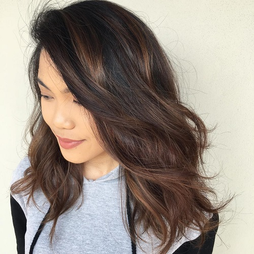 60 hairstyles featuring dark brown hair with highlights subtle brunette ombre balayage pmusecretfo Choice Image